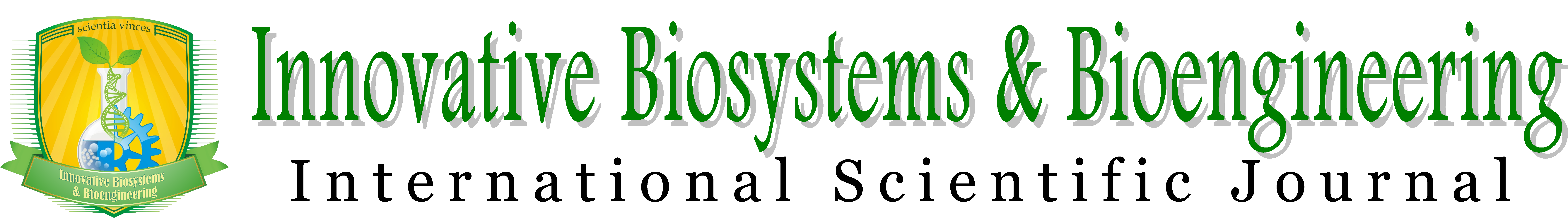 Innovative Biosystems & Bioengineering, International Scientific Journal